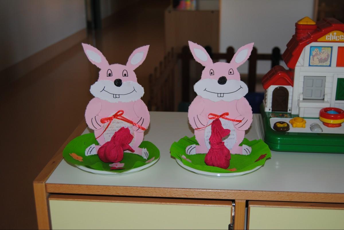 I nostri lavoretti per festeggiare la santa pasqua for Lavoretti per scuola infanzia