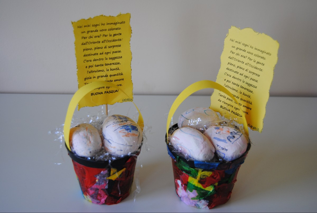 Eccezionale I nostri lavoretti per festeggiare la Santa Pasqua - Scuola Fenaroli UR12